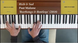Post Malone - Rich & Sad Piano Cover