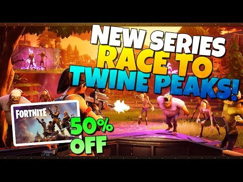 RACE TO TWINE Series Announcement & Fortnite STW 50% OFF!  Fortnite Save The World