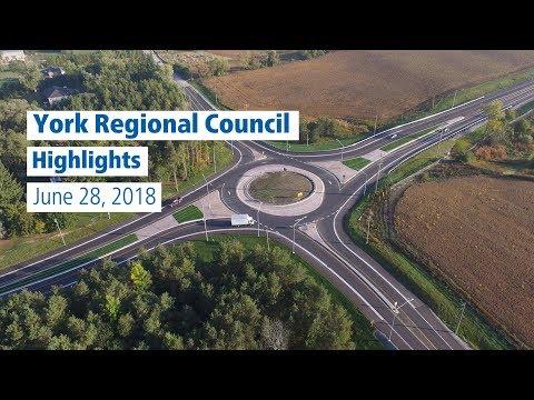 York Regional Council Highlights - June 2018