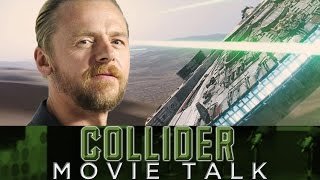 Collider Movie Talk - Star Wars Fans Angry At Simon Pegg