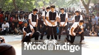 2nd Place - Group 5 - Finals - Streetdance - Mood Indigo 2015 | IIT BOMBAY
