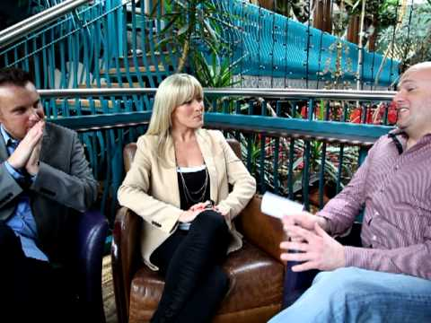 Eurovision Ireland Una Gibney & David Shannon Interview Part 1 of 3 - 20 Feb 2012