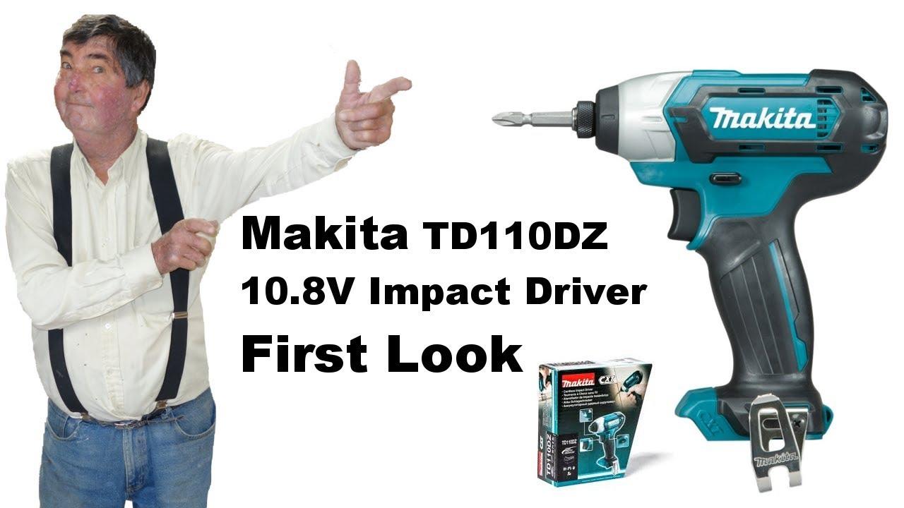 Efterstræbte Makita 10.8v CXT Impact Driver TD110DZ. Why did I get one when I SI-84