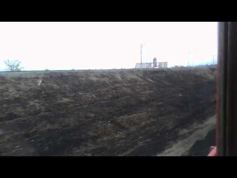 Прибытие на ст. Карталы-I (Южно-Уральская железная дорога)