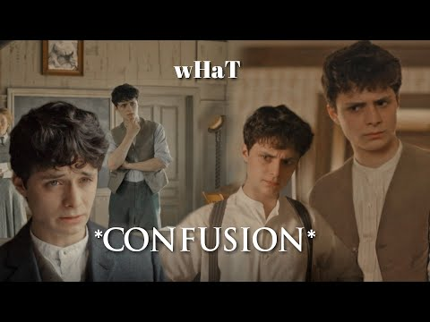 Gilbert Blythe is the most confused boy ever.