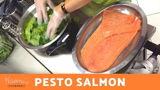 Pesto Salmon - Naomi's Corner Live! Open House