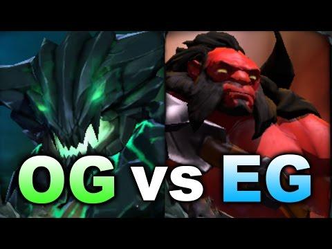 New OG vs EG - Game of the Day - MDL Dota 2