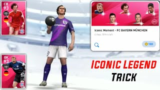 ICONIC LEGEND TRICK IN BAYERN MUNICH ICONIC LEGEND PACK PES 2020 MOBILE