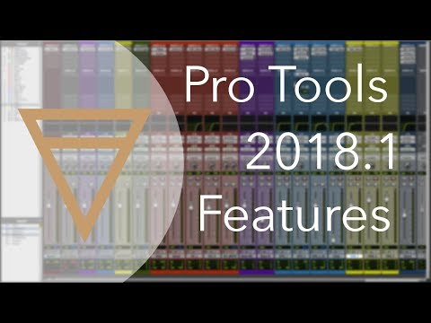 Pro Tools 2018.1 – Features Review