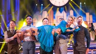 Kellie Bright & Kevin Clifton Quickstep to 'Nine To Five' - Strictly Come Dancing: 2015