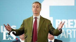 Brexit Party leader Nigel Farage: 'I'm very worried about Leave vote being split'