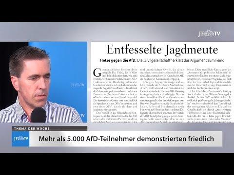 Ein Blick in die neue JF (23/18): Große AfD-Demonstration in Berlin