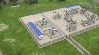 видео БКТП (блочная комплектная трансформаторная подстанция)