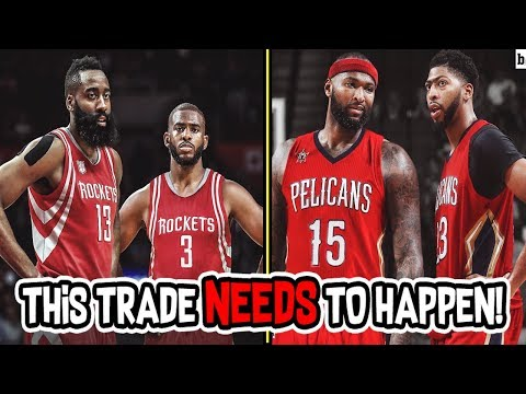 The Houston Rockets and New Orleans Pelicans need to make THIS TRADE!