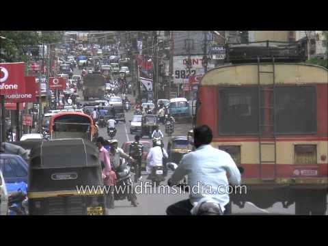 Traffic congestion in Satara City, Maharashtra