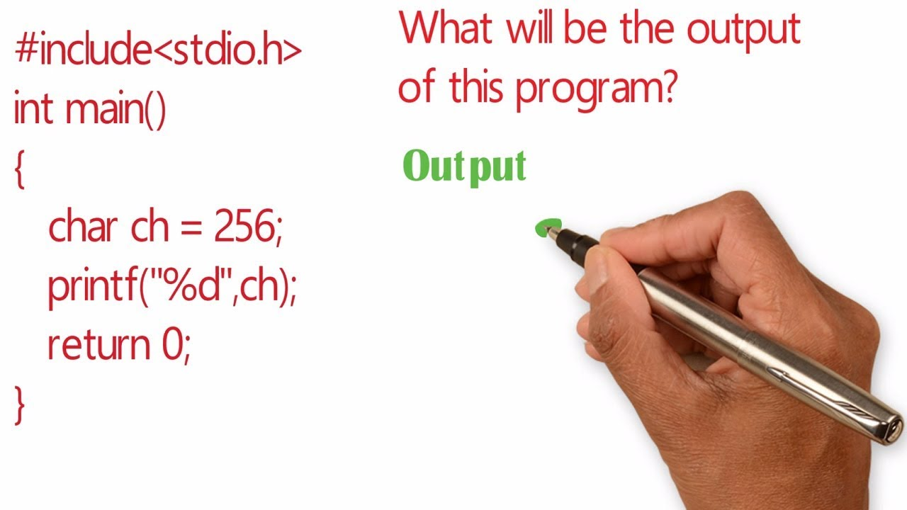 What is the output of this program ? Embedded C interview question 1