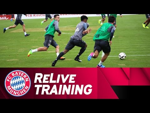 ReLive | FC Bayern Training w/ Lewandowski, Boateng & more!