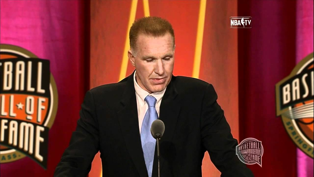 Chris Mullin's Basketball Hall of Fame Enshrinement Speech