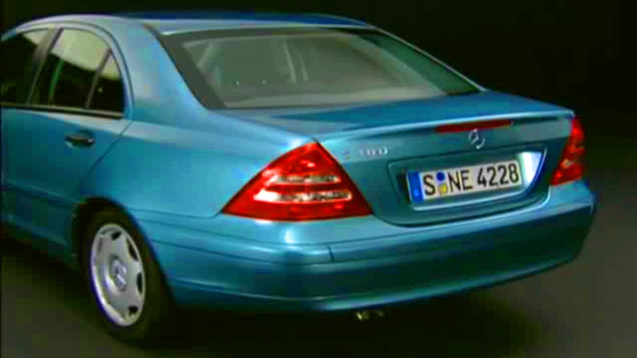 mercedes c class w203 video review youtube. Black Bedroom Furniture Sets. Home Design Ideas