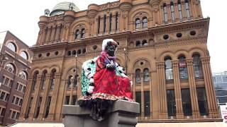 Queen Victoria Statues In Town Hall, Sydney Australia