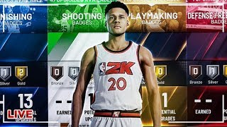 NBA 2K20 - MAKING THE BEST PLAYER BUILD & ARCHETYPE LIVE | BEST JUMPSHOT & BADGES GAMEPLAY