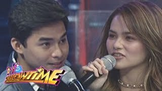 It's Showtime Cash-Ya: McCoy and Elisse exchange message for each other
