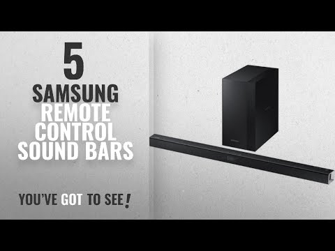 Top 5 Samsung Remote Control Sound Bars [2018]: Samsung 2.1 Channel 300 Watt Sound Bar with Wireless