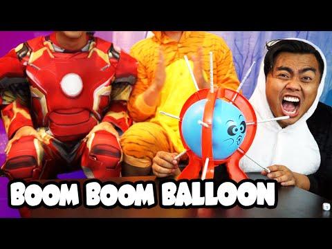 BOOM BOOM BALLOON CHALLENGE!