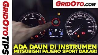 Arti Berbagai Indikator Instrumen Mitsubishi Pajero Sport Dakar | GridOto Tips