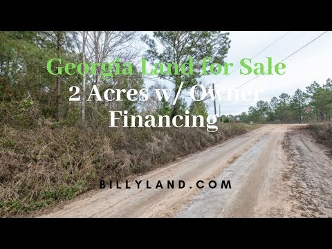 Georgia Land For Sale 2 Acres, Grady County, Owner Financing