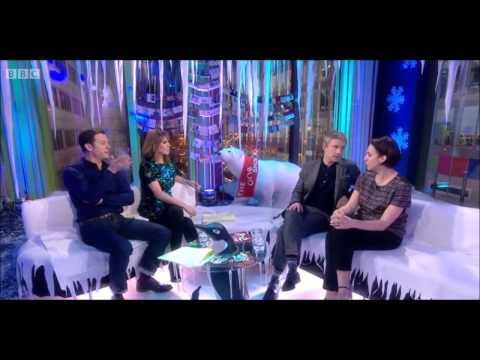 Martin Freeman and Amanda Abbington interview - The One Show - 19th December 2013