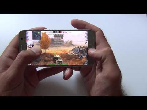 Samsung Galaxy S7 - игры с него