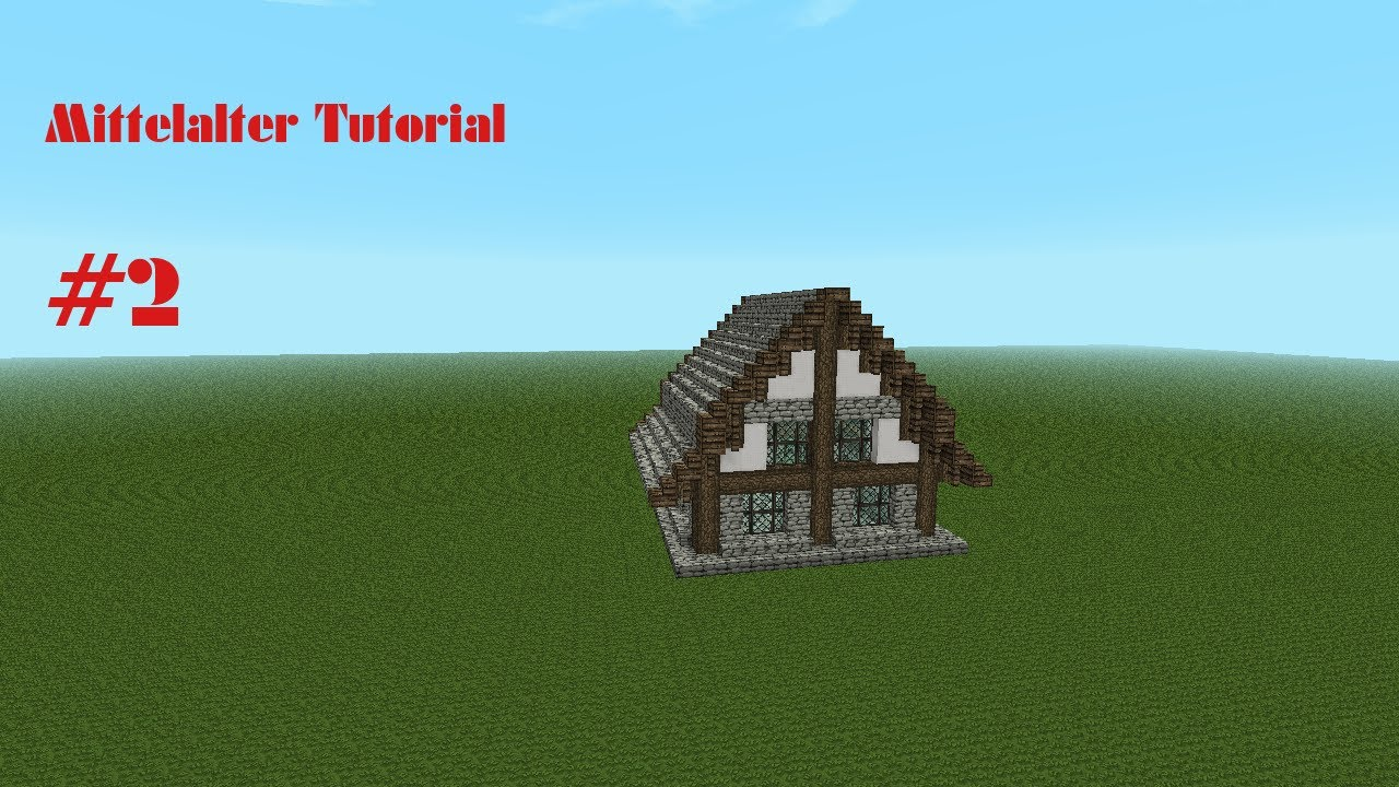Minecraft Spielen Deutsch Minecraft Huser Bauen Tutorial German Bild - Minecraft schone einfache hauser