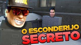 O ESCONDERIJO SECRETO - Esconde Esconde CS:GO