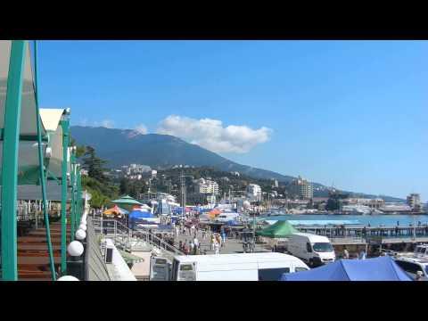 Yalta ,Crimée 2012 plage..ялта плаж