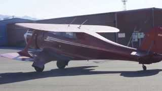 Beechcraft staggerwing model 17 bi-plane