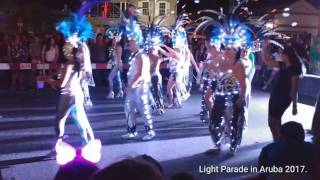 Light Parade in Aruba - Carnaval 2017.