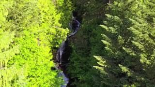 Sunrise Waterfall 2017 Drone