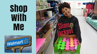 Shop With Me  Walmart Grocery   Family Vlog