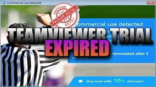 How To Fix Expired TeamViewer Trial Period  2016-2017 | 100% Legal |