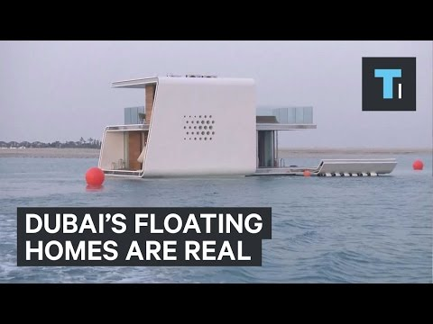 Dubai's floating homes are real