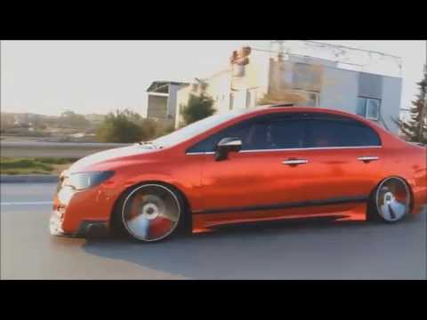 Modifiyeli Arabalar – Modified Cars  2015 – Seat – Honda Civic Muhteşem Modifiye HD