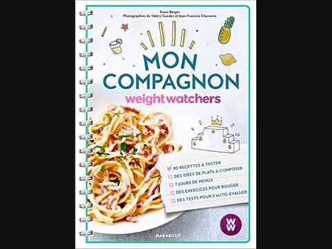 Mon Compagnon Weight Watchers Weight Watchers Livres Youtube