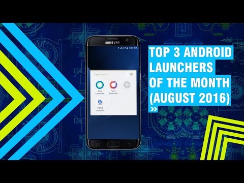 Top 3 Android Launchers Of The Month ( August 2016 ) + Giveaway of 5 mobile skins