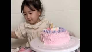 육아브이로그) 41갤지둥이의 홈베이킹 케이크만들기