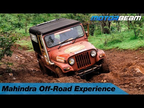 Mahindra Off-Road Training - Getting Slushy | MotorBeam