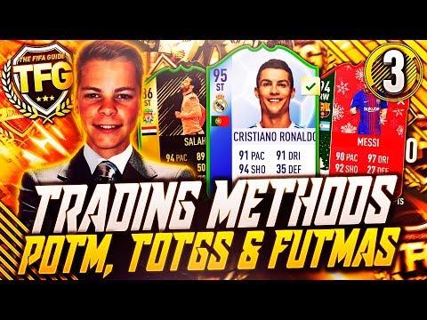 GARANTERT 100K COINS VED TRADING!!💰 TOTGS, POTM & FUTMAS TIPS PÅ FIFA 18!💥 TFG #3