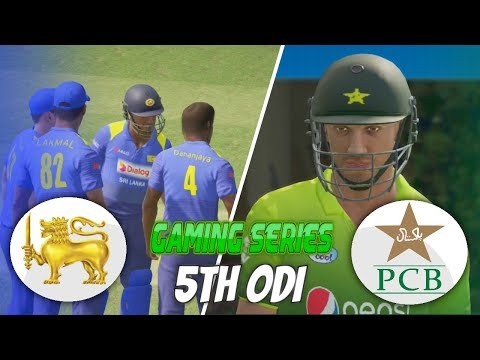 PAKISTAN VS SRI LANKA 2017 - 5TH ODI - DON BRADMAN CRICKET 17 (GAMING SERIES)