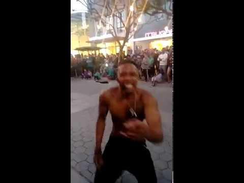 Santa Monica Third Street Promenade - Performers