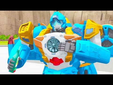 TOBOT Athlon English | 107A - Seaside Start  | NEW! | Season 1 Full Episode | Kids Cartoon